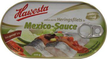 Hawesta Heringsfilets Mexiko-Sauce 200g – Bild 2