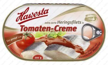 Hawesta Heringsfilet in Tomatencreme 200g – Bild 1