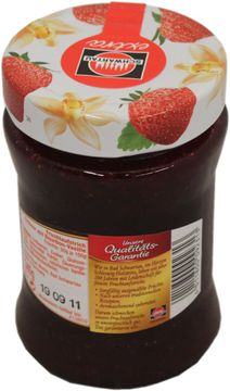 Schwartau Extra Erdbeer-Vanille Konfitüre 340g – Bild 2
