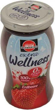 Schwartau Extra Wellness Erdbeer 260g