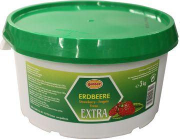 Göbber Erdbeer Konfitüre Extra 3kg – Bild 2