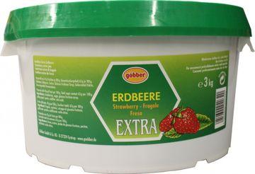 Göbber Erdbeer Konfitüre Extra 3kg – Bild 1