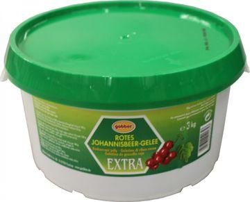Göbber Rote Johannisbeere Gelee Extra 3kg – Bild 2