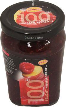 Göbber Fruchtaufstrich Himbeer-Pfirsich 310g