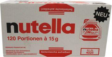 Nutella Frühstücksportionen 120 x 15g  – Bild 2