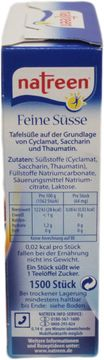 Natreen Tabletten 1500er Pack – Bild 2