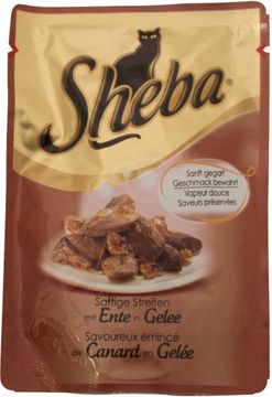 Sheba Essence Mini Filet Ente in Gelee 85g