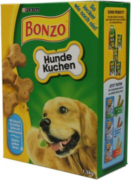 Bonzo Hundekuchen 1,5kg – Bild 1