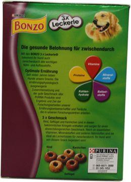 Bonzo 3 x Leckere Snack 500g – Bild 3
