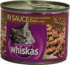 Whiskas in Sauce Ente + Huhn 195g 001