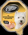 Cesar Geflügel + Karotten 150g