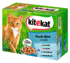 Kitekat Fisch Box in Gelee 12 x 100g