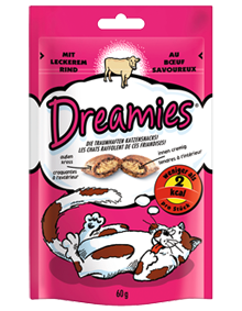 Dreamies Rind 60g – Bild 1