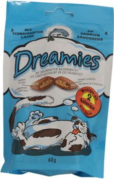 Dreamies Lachs 60g – Bild 2