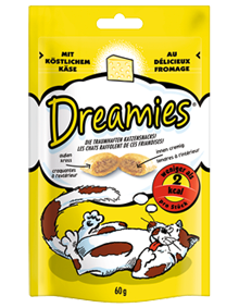 Dreamies Käse 60g