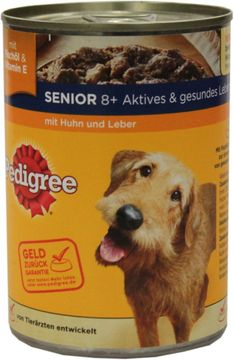 Pedigree Senior mit Huhn + Leber 400g