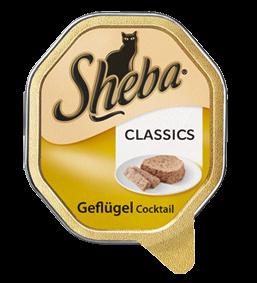 Sheba Menue Geflügel Cocktail 100g – Bild 1