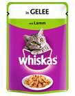 Whiskas Beutel Lamm in Gelee 100g