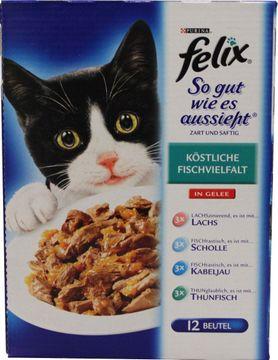 Felix so gut wie es aussieht Fisch 12 x 100g – Bild 2