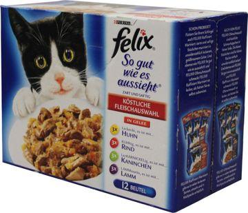 Felix so gut wie es aussieht Fleisch 12 x 100g