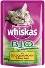 Whiskas Bio Geflügelhäppchen 100g 001