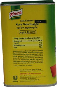 Knorr Klare Fleischsuppe Klassik 880g – Bild 4