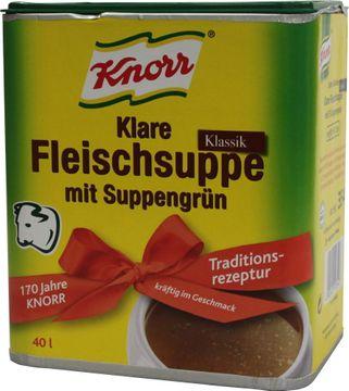 Knorr Klare Fleischsuppe Klassik 880g – Bild 1