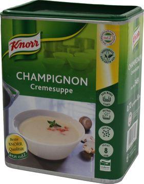 Knorr Feinkost Champignon Cremesuppe 720g – Bild 1