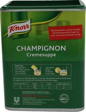 Knorr Feinkost Champignon Cremesuppe 720g – Bild 3