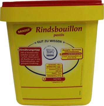 Maggi Rindbouillon Pastös 1,3kg – Bild 3