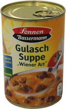 Sonnen Bassermann Gulaschsuppe Wiener Art 400ml