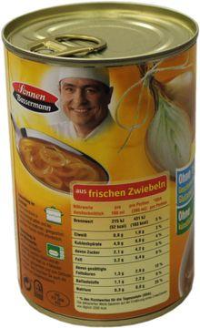 Sonnen Bassermann Zwiebelsuppe Französische Art 400ml – Bild 3