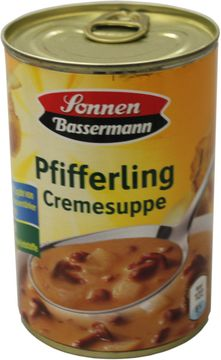 Sonnen Bassermann Pfifferlingcremesuppe 400ml