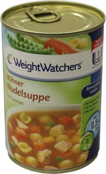 Weight Watchers Hühner Nudelsuppe 400ml – Bild 1