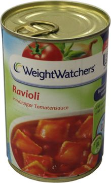 Weight Watchers Ravioli in Tomatensauce 400g