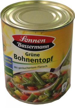 Sonnen Bassermann Grüne Bohnentopf 800g