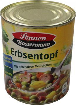 Sonnen Bassermann Erbsentopf 800g – Bild 1