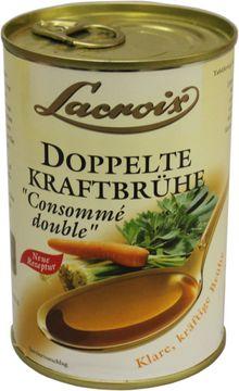 Lacroix Doppelte Kraft-Brühe 400ml – Bild 1