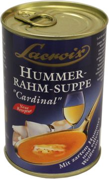 Lacroix Hummer Rahmsuppe Cardinal 400ml
