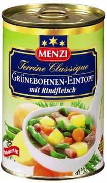 Menzi Grüner Bohnen Eintopf 400g  – Bild 1