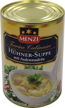 Menzi Hühnersuppe Nudeln konzentriert 425ml – Bild 2