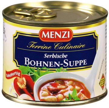 Menzi Serbische Bohnensuppe 212ml