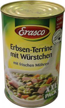 Erasco Erbsen Terrine 1,55kg – Bild 1