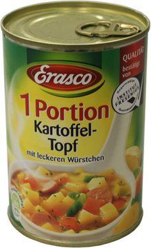 Erasco Kartoffeltopf Würstchen 400g