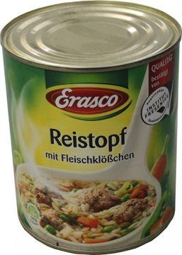 Erasco Reistopf mit Fleischklösschen 800g