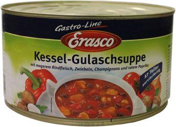 Erasco Kessel Gulaschsuppe 4,3L