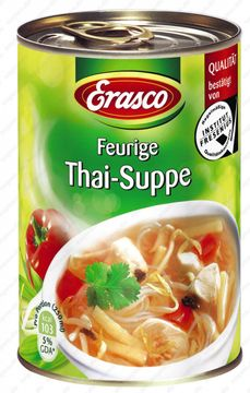 Erasco Feurige Thai Suppe 390ml – Bild 1