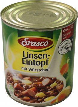 Erasco Linseneintopf mit Würstchen 800g
