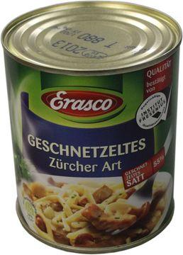Erasco Geschnetzeltes Züricher Art 800g – Bild 1
