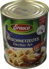 Erasco Geschnetzeltes Züricher Art 800g 001